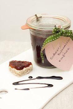 ErdbeerBalsamicoKonfitüre Erdbeeren, Lebensmittel