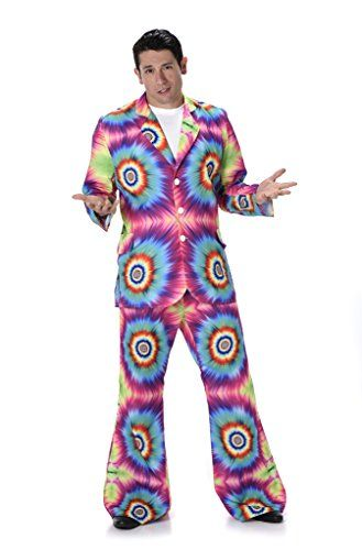Halloween Costumes Ideas Men\u0027s Tie Dye Suit - Halloween Costume (M - halloween costumes ideas men