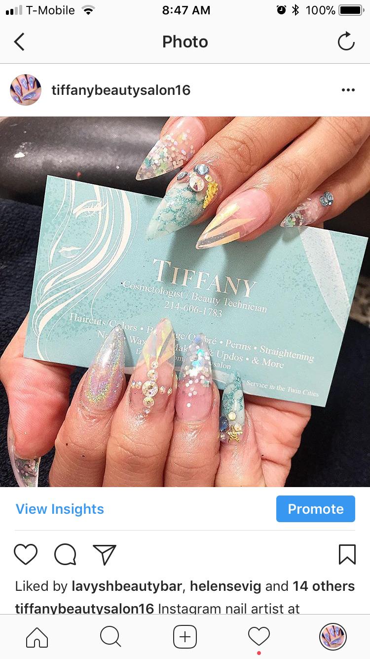 Mermaid nails encapsulated | Nails designs | Pinterest | Mermaid ...