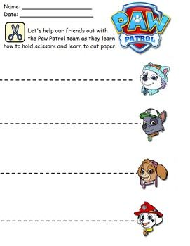 Paw Patrol Worksheets | learning | Pinterest | Paw patrol ...