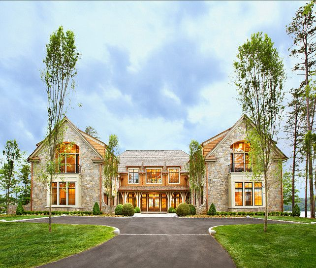 Lake Homes Fancy: Lake House With Transitional Interiors (Home Bunch