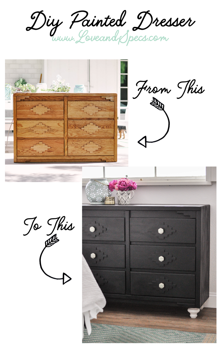 DIY Painted Dresser Easy diy room decor, Diy painting