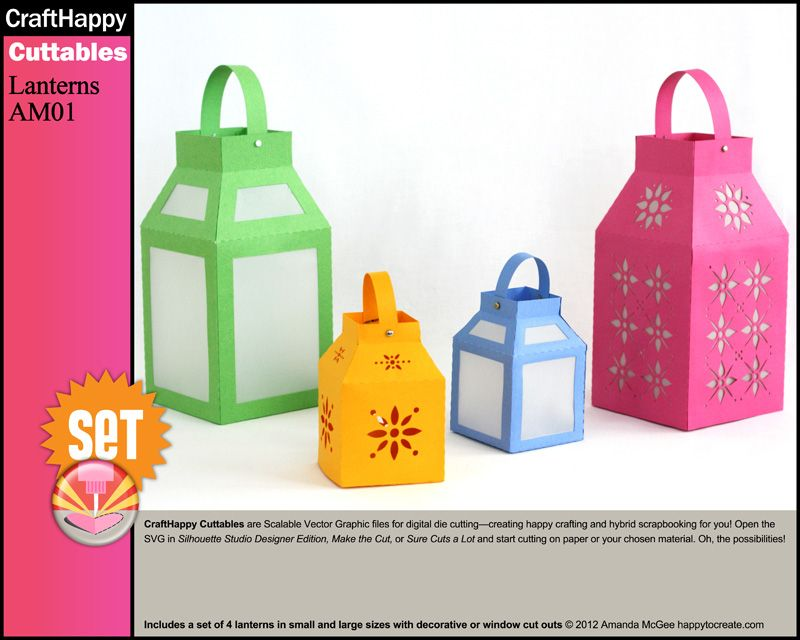 paper lanterns craft ideas make your own paper lanterns with your digital die cutting 5099