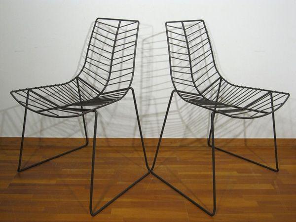 Modern Chairs イタリアArperリーフチェア2脚セットA 北欧KNOLLコンランIDEE インテリア 雑貨 家具 ¥1300yen 〆05月14日