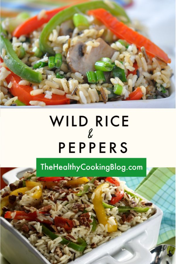 wild rice and peppers  recipe  easy casserole recipes