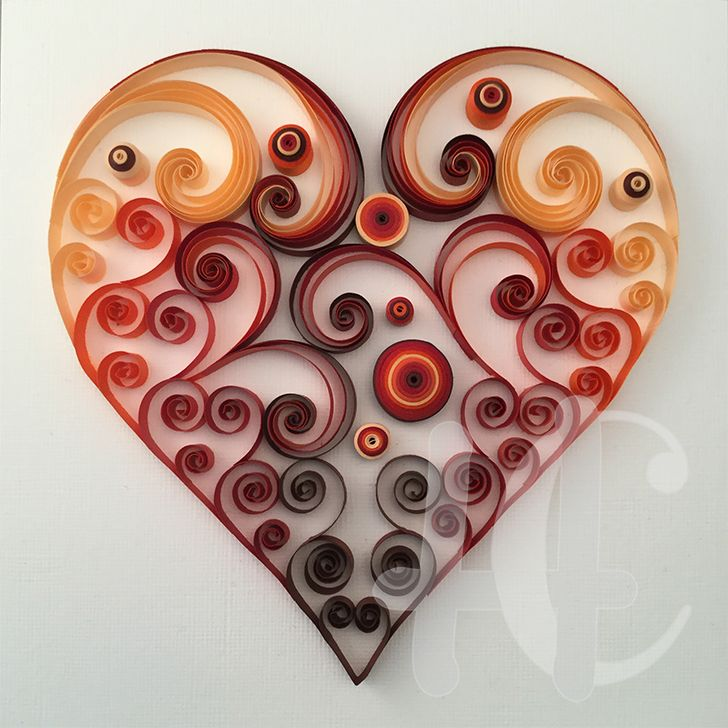9 of Hearts Custom Quilling on Behance