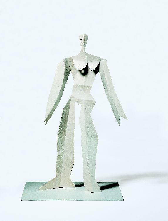 Bien-aimé Baigneuse, 1961. Tôle découpée et pliée, 42,3x30x20,8 cm  GX82