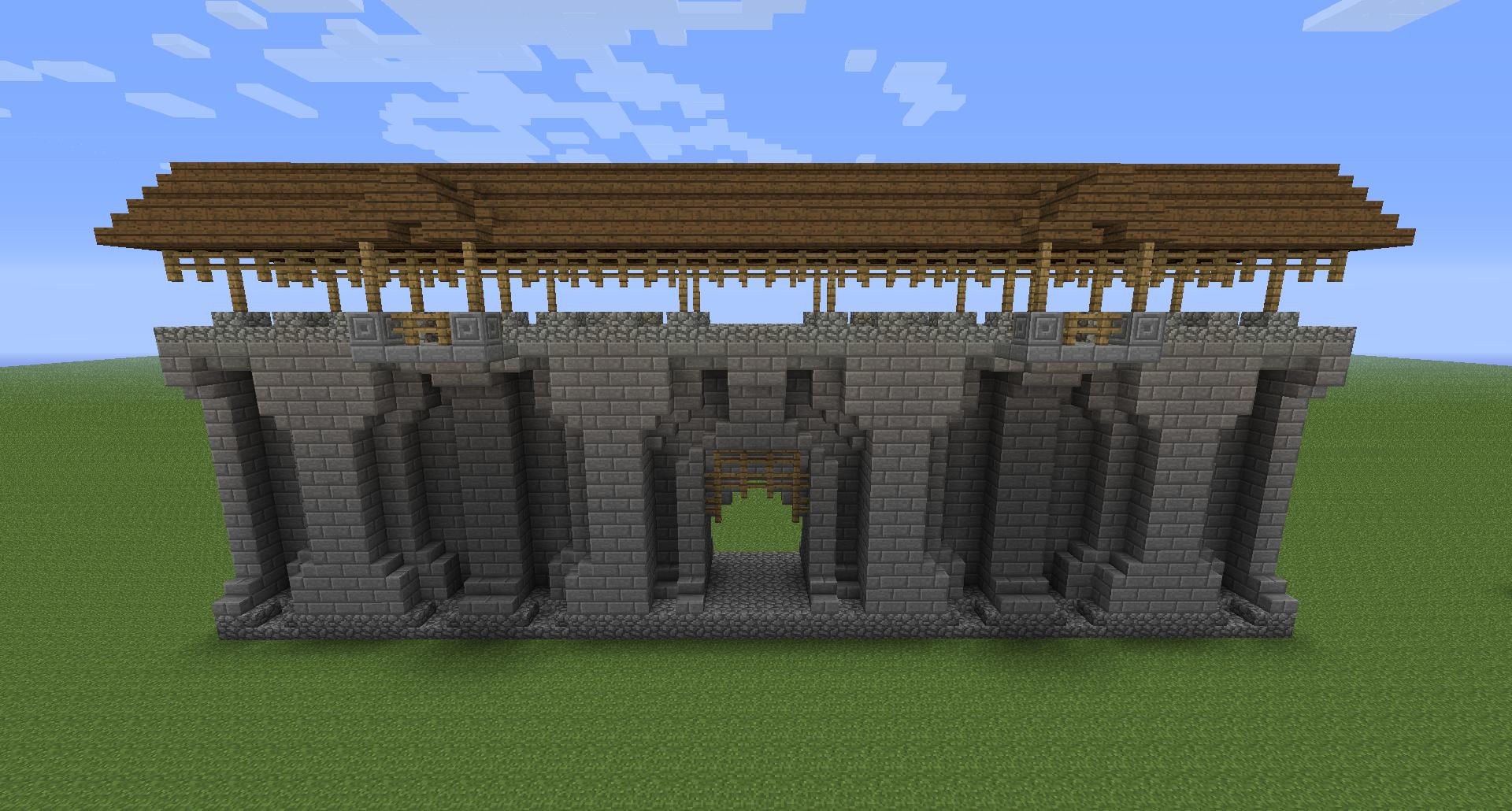 Minecraft Castle Wall Designs Google Search Minecraft Castle