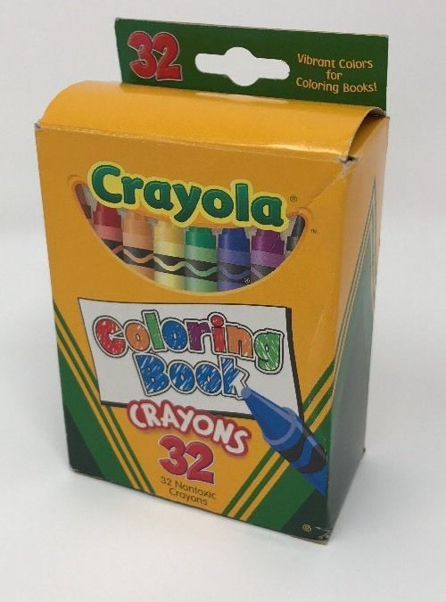 Coloring Book Crayons 32 Count Crayola Non Toxic Vibrant Colors Kids ...