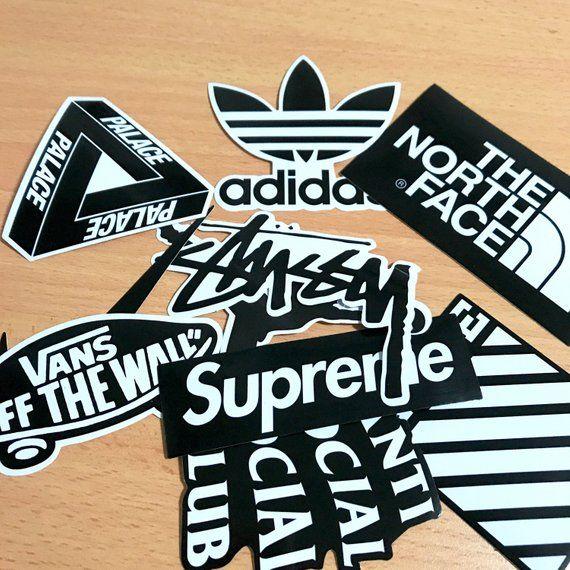 uk availability facc1 c21f9 Hypebeast Street Wear Brands Sticker Pack