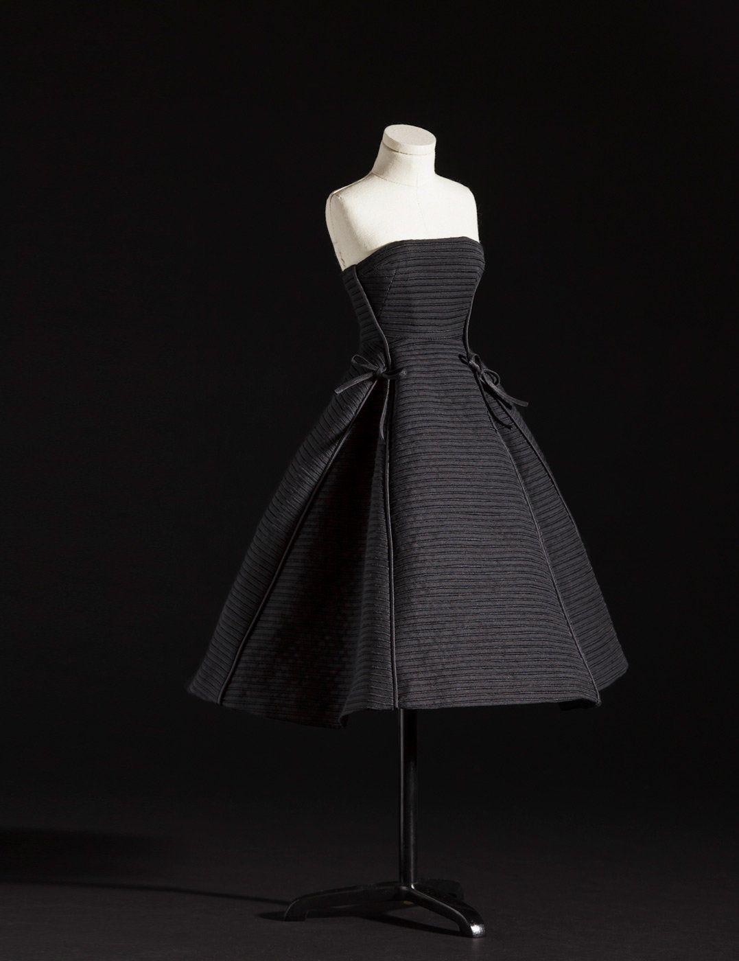 Pushkin black cocktail dress