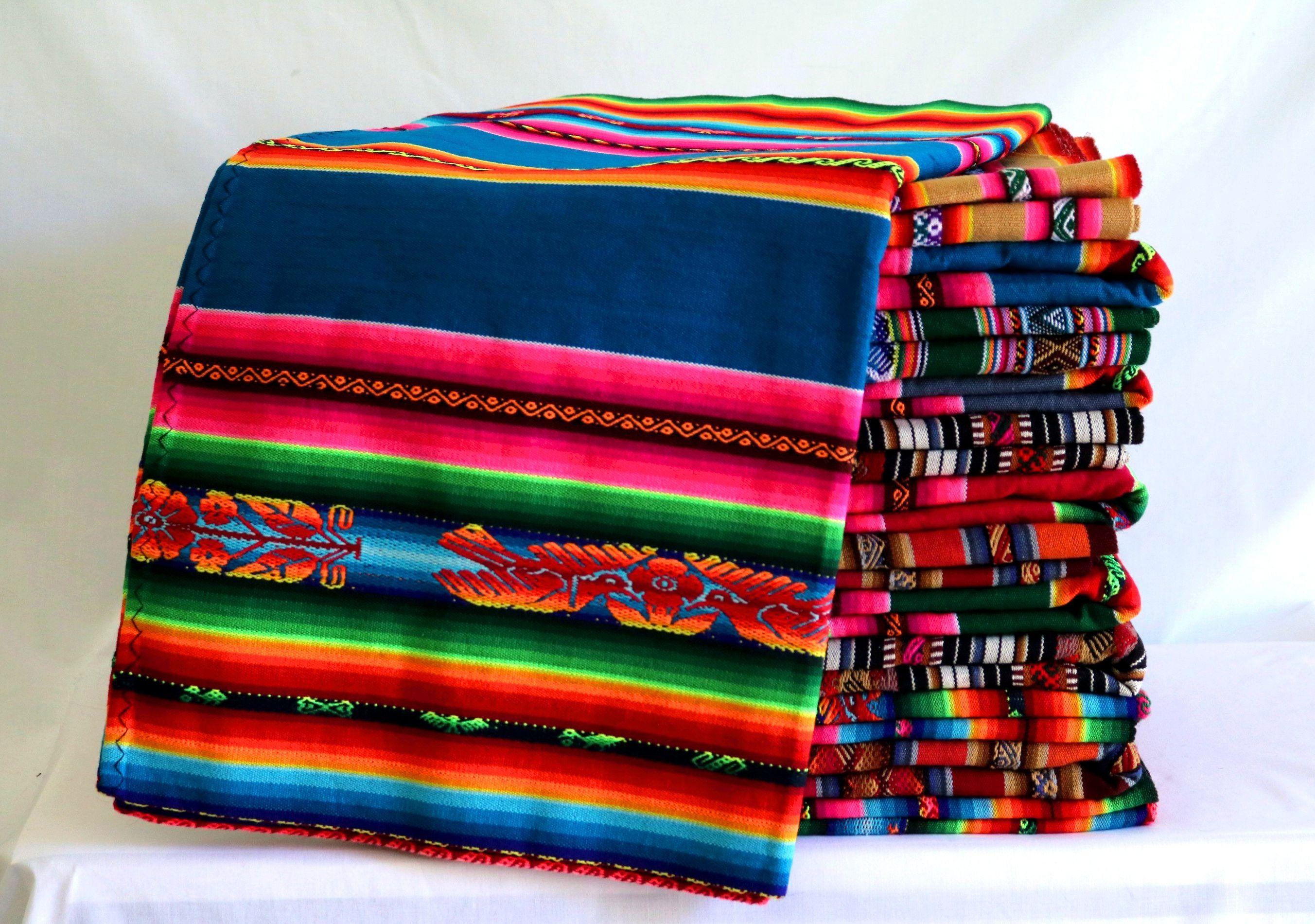 Andengewebe Inka Decke Andentextil Peruanisches Gewebe