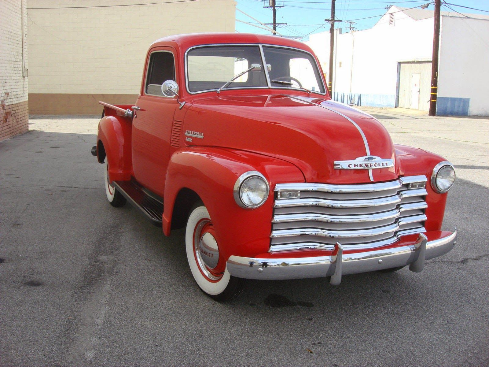 Classic 1950 1960 Chevy Cars | 1950 Chevrolet 3100 Pickup Truck