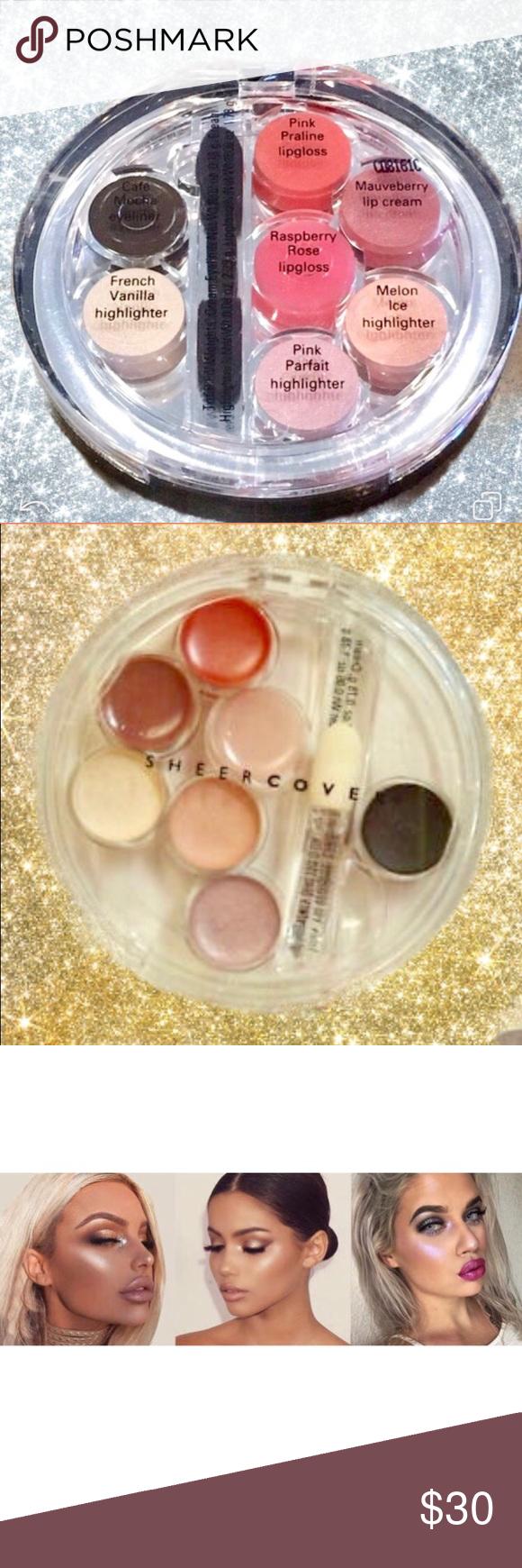 Sheer Cover Face Palette! Sheer Cover Eye, Lip