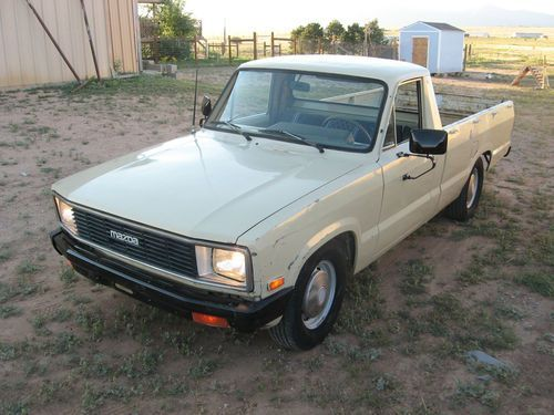 1982 Mazda Diesel Pickup Mine Had The Worst Creaking Noise From The Ball Joints When It Got Cold And Dry Outside Mazda Diesel Trucks Ford Courier