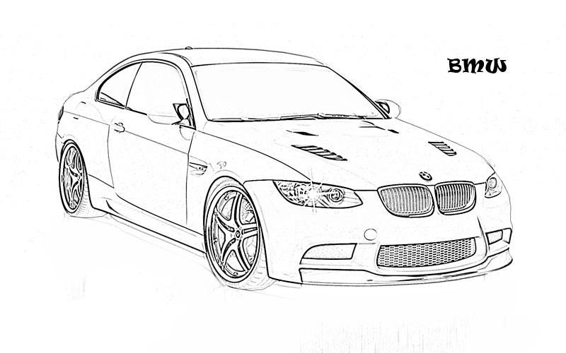 Printable coloring page for kids exotic cars yooall
