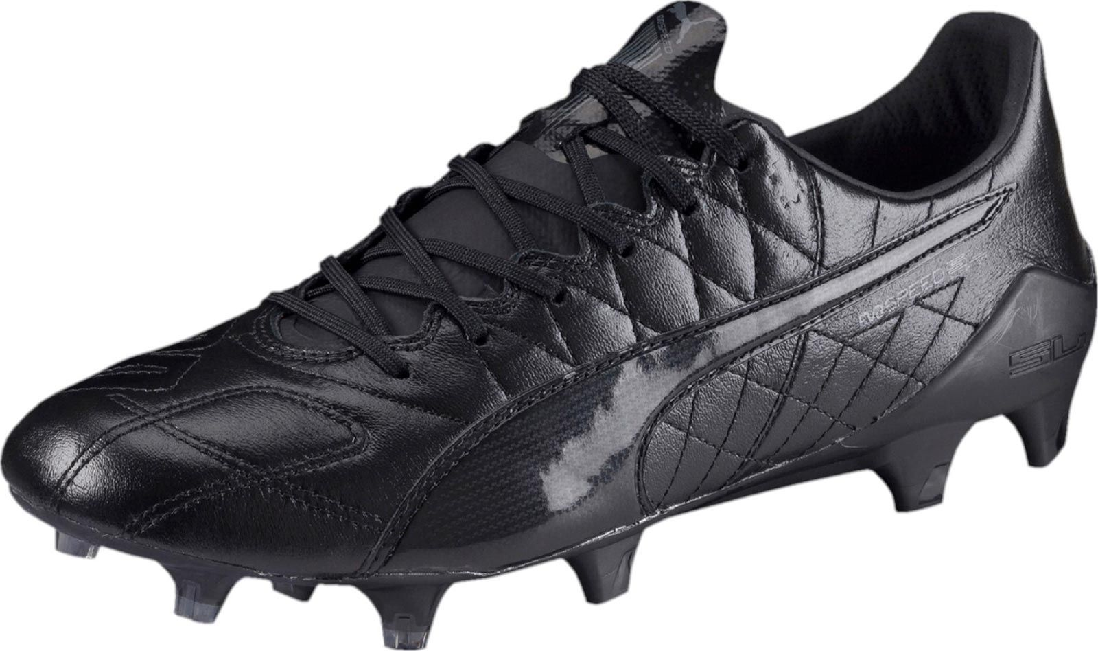 The stunning blackout Puma evoSPEED SL k-leather boots were launched today  as limited edition. 0b38ff6f2d68