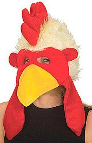 Chicken Hat with Mask - http://www.specialdaysgift.com/chicken-hat-with-mask/