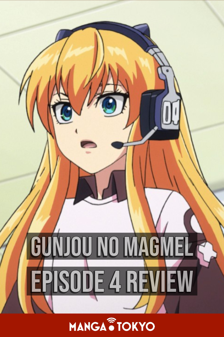 Read our review for Episode 4 of anime Gunjou No Magmel