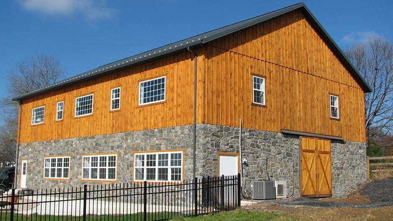 Custom Post Frame Horse Barns Conestoga Buildings Pole Barn Homes House Plans