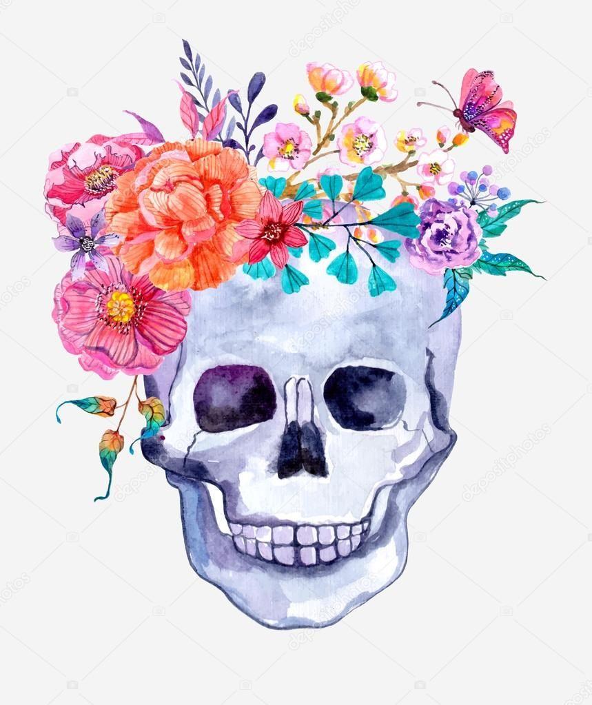 Calaveras Con Flores Para Todos Los Gustos Conoce Su Historia