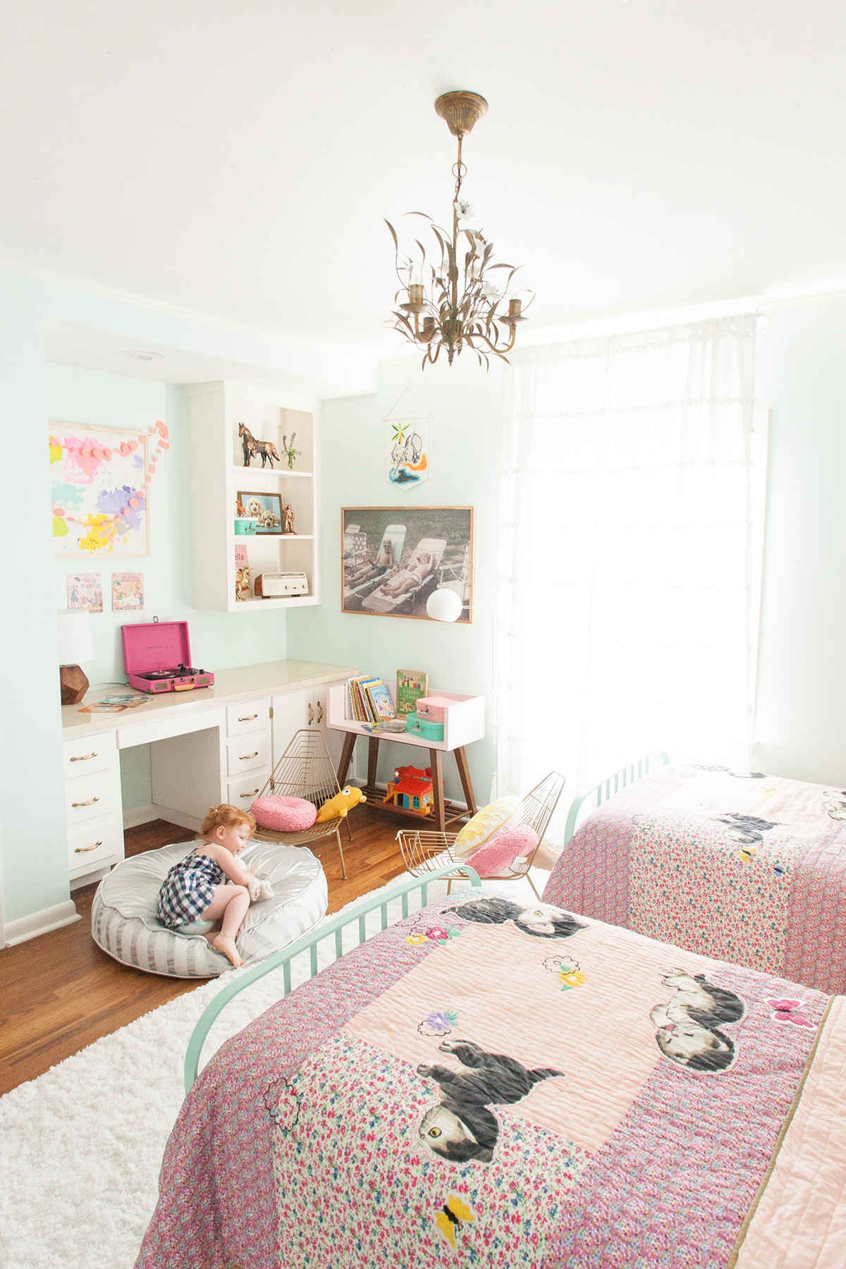 Ideas decorar habitaci n ni as dormitorio p a y nina for Ideas decoracion habitacion juvenil nino