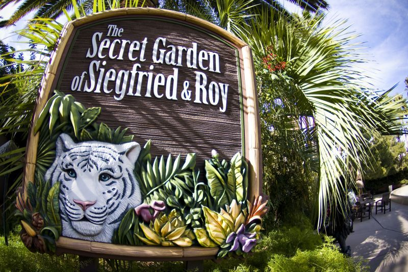 siegfried roy s secret garden and dolphin habitat las vegas united states touristeye
