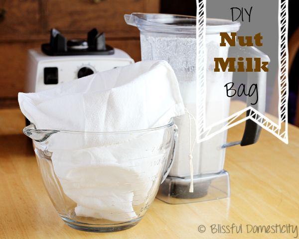 Diy Nut Milk Bag