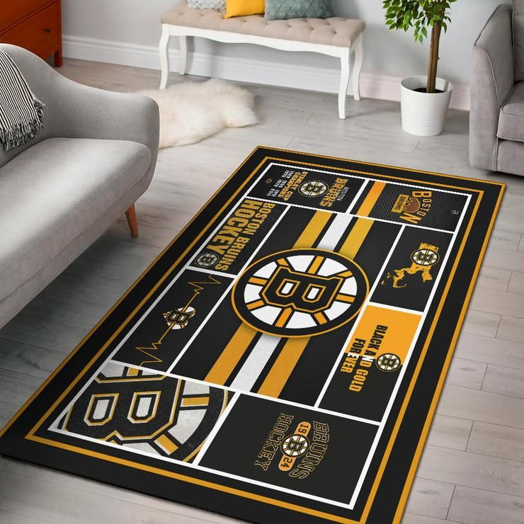 Limited Edition Rug Boston Bruins