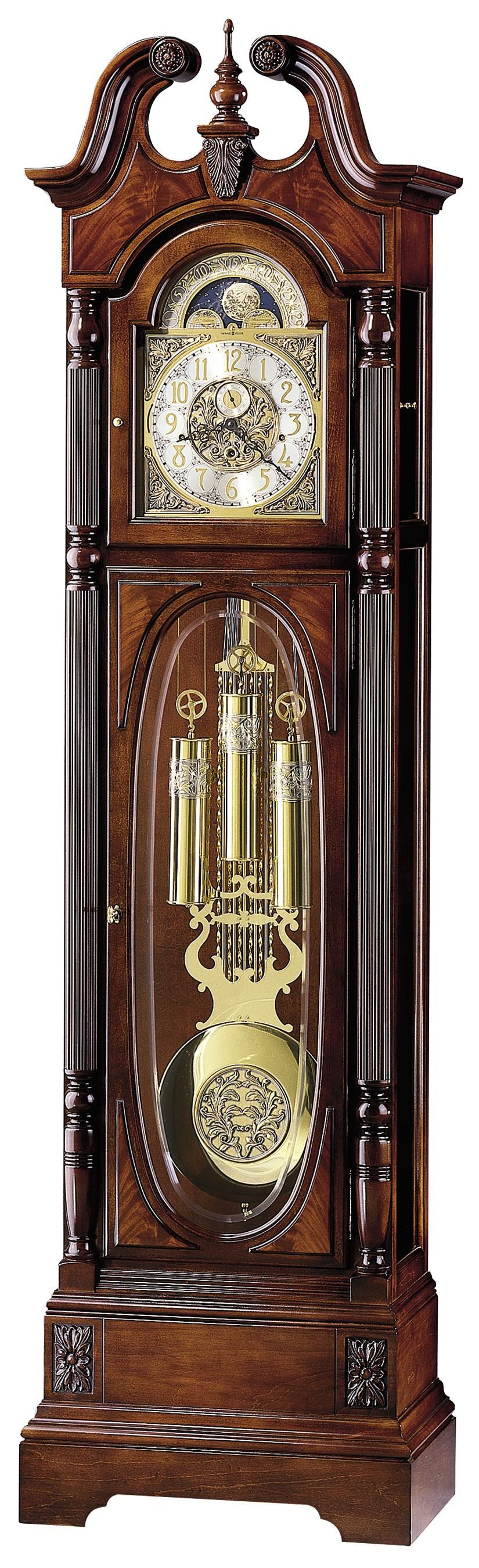 Howard Miller Clocks Howard Miller Stewart 610 948 Grandfather Clock Grandfather Clock Clock Antique Wall Clock