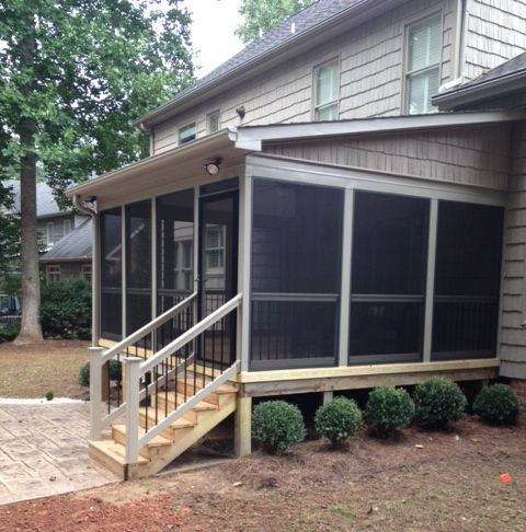 Which Roof Style Is Best For Your Outdoor Space Gable Hip Flat Or Shed Porch Roof Design Porch Design Screened Porch