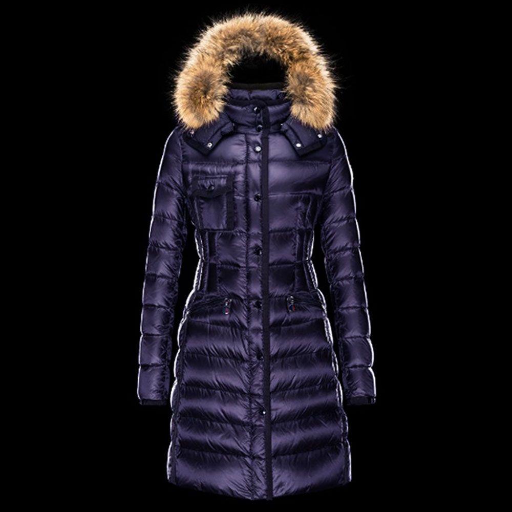 Moncler womens hermifur down fur jacket