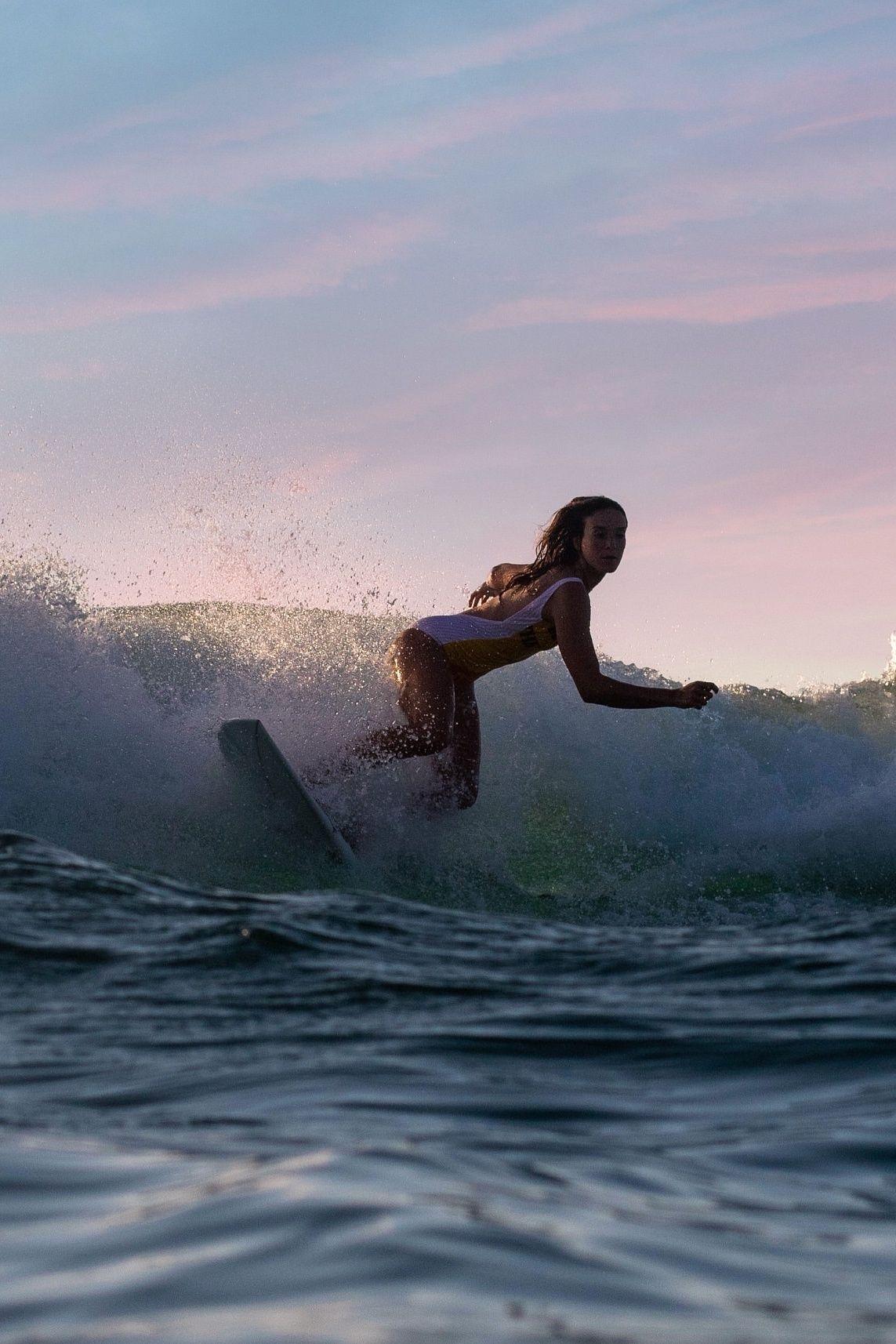 Surfer Girl By Herminebonvallet The Man Surfer Girl Ocean