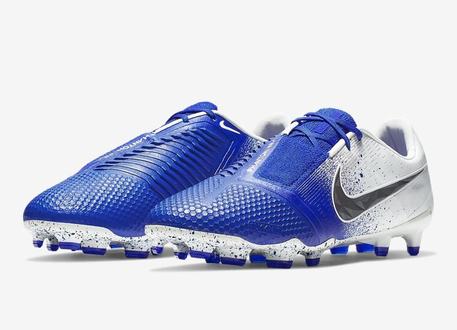 nike blue and black football boots