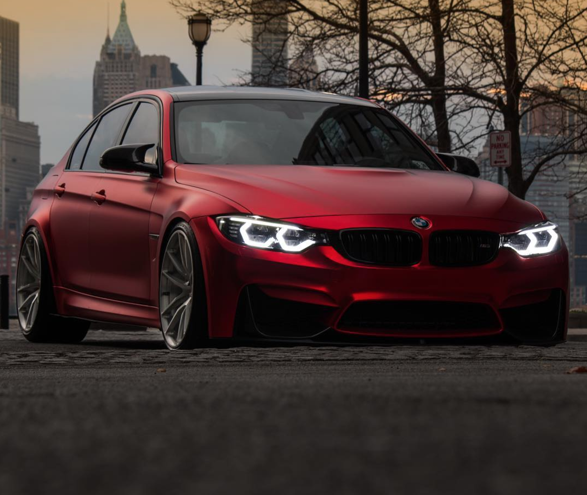 Matte Chrome Red F80 M3 Bmw Cars M3 Car M4 Auto Bmw Car Automobile Technology