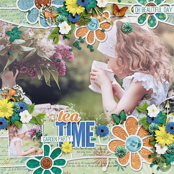 Garden Party Collection - Aimee Harrison Designs  https://www.digitalscrapbookingstudio.com/digital-art/bundled-deals/garden-party-collection/   Garden Par...