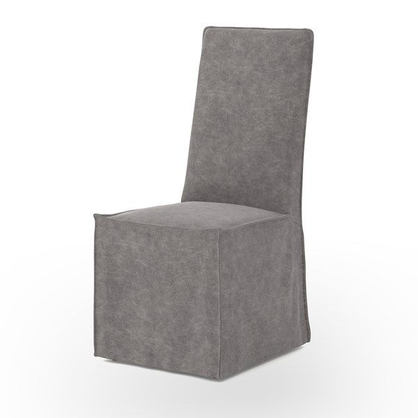 Four Hands Downey Dining Chair   Set Of 2 Stonewash Gray