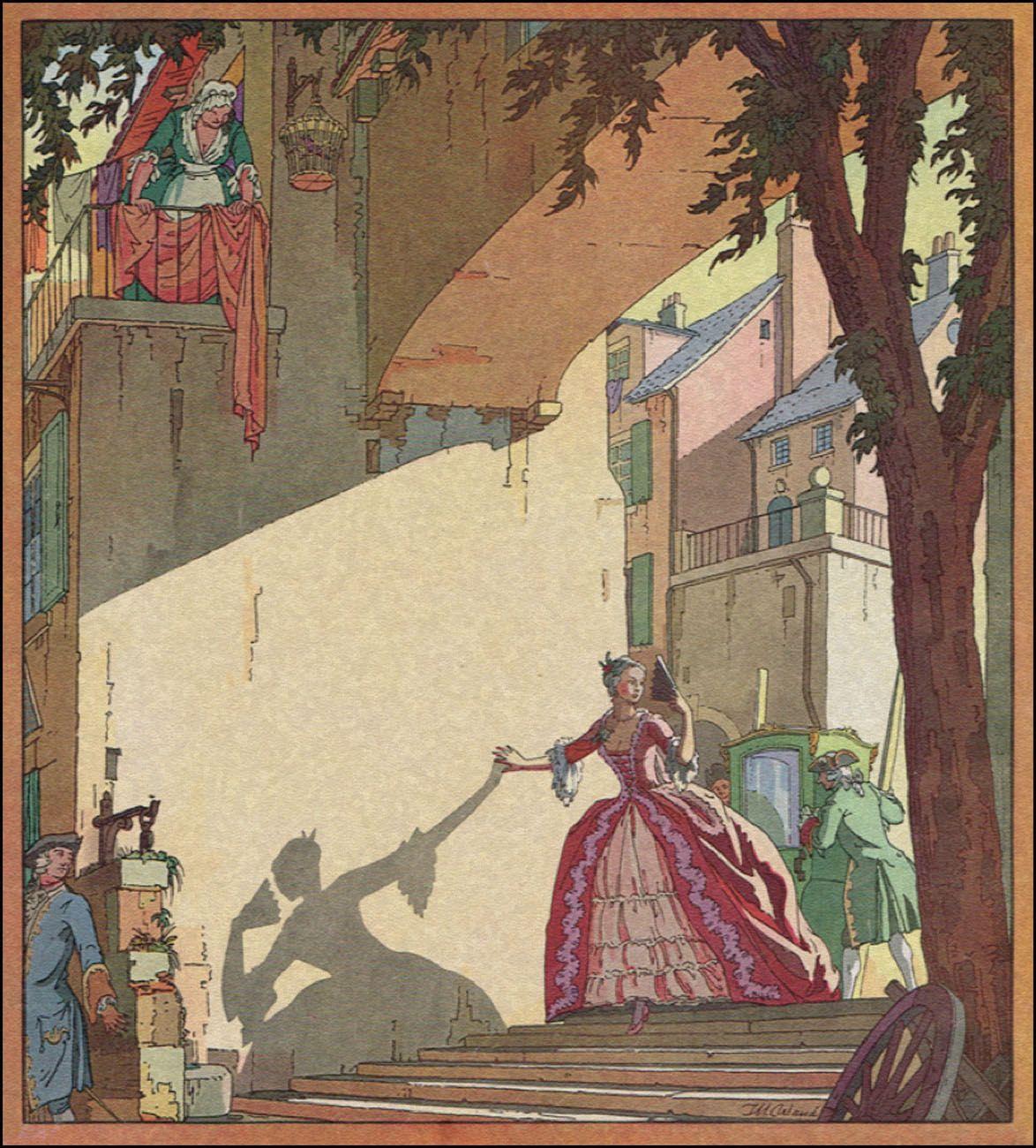 Thomas Maitland Cleland book illustration, 1934