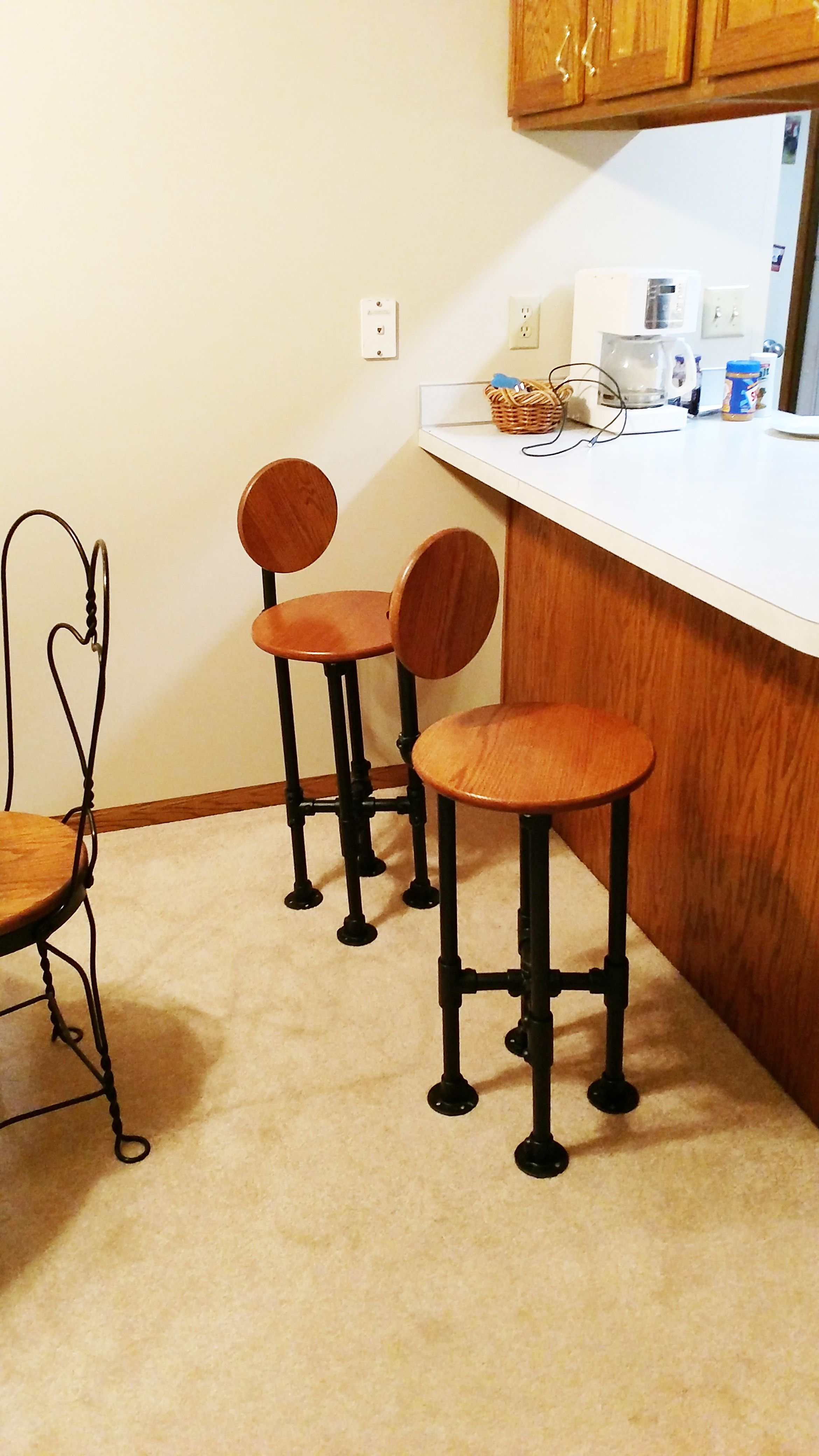 Pin On Pipe Stools Chairs