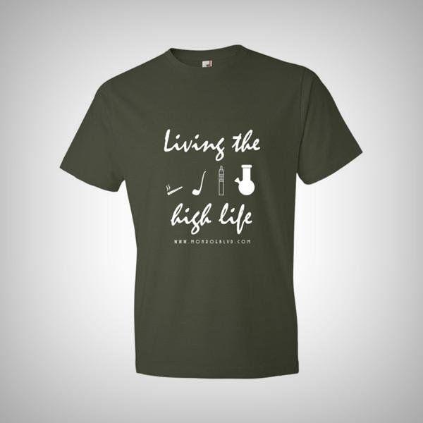 Livin' the high life - short sleeve t-shirt https://t.co/JK7pzg5dWx @HighVoltVixen https://t.co/IuRysN8ZWG