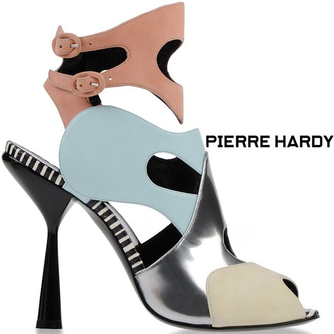 exclusive sale online free shipping 2014 Pierre Hardy Suede Cutout Sandals clearance find great D89sqeM8l