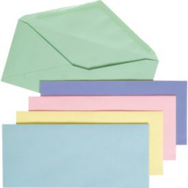Color envelopes at Staples