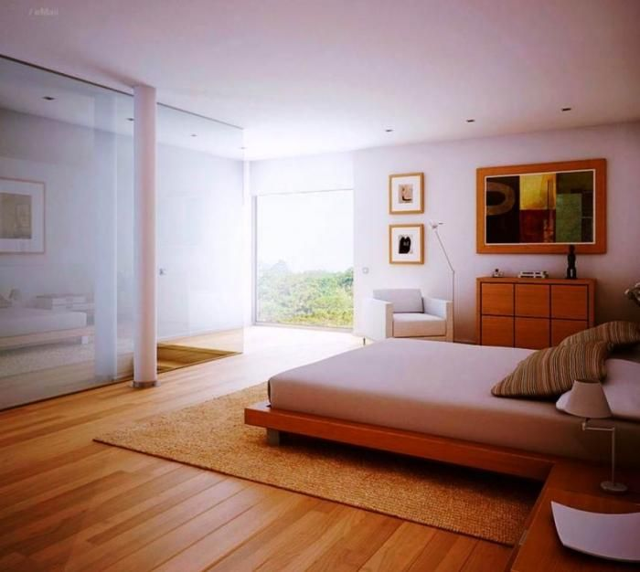 Make Your Bedroom Stunning With Our Wooden Flooring. Low
