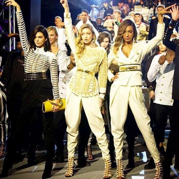 28e69a27 Balmain x H&M runway instagram photos - Elle Canada | Fashion ...