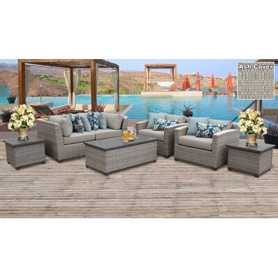 Sol 72 Outdoor Merlyn 7 Piece Sofa Seating Group With Cushions