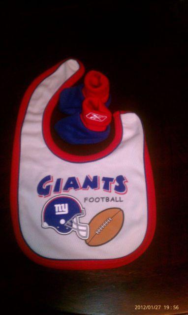Ny Giants baby stuff