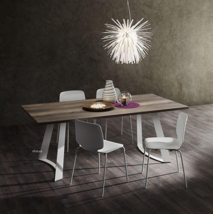Photo of Modern BRUNO table in HPL- Tavolo moderno BRUNO in HPL  BRUN…
