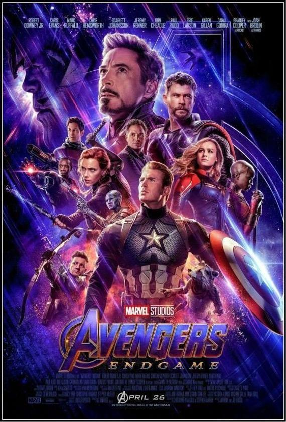 AVENGERS 4: ENDGAME - 2019 Original 2-Sided 27X40 Movie Poster - Final Style - Robert Downey Jr., Chris Evans, Mark Ruffalo, Paul Rudd