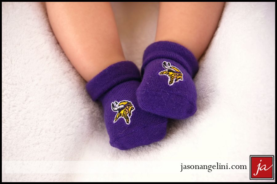 best deals on dbf07 a3e0c Vikings baby socks, to go with her little jersey! | Baby ...