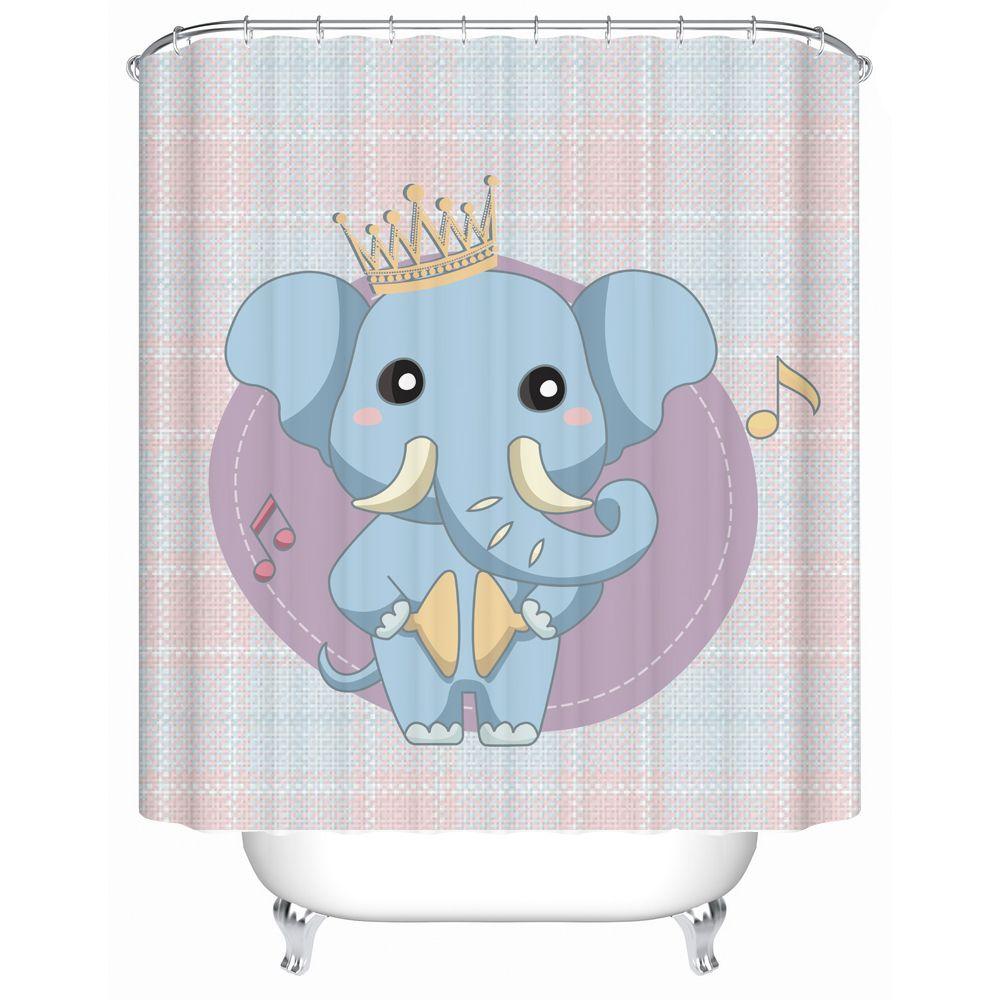 Home Decor Bathroom Shower Curtains Durable Decorative Drapes For ...